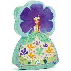 Puzle Silueta La Princesa de la Primavera