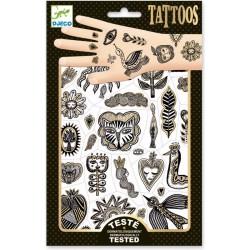 Tatuajes Dorado Chic