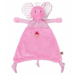 Doudou Elefante Rosa