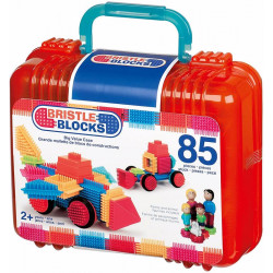 Bristle Blocks Maletín 85 piezas