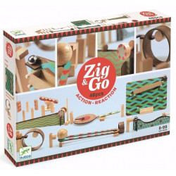 Construcción Zig & Go Action - Reaction 48 piezas