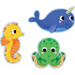 Puzzle Evolutivo en el Mar