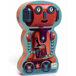 Puzle Silueta Bob el Robot