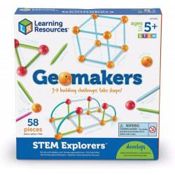 Geomakers set Actividades Formas Geométricas
