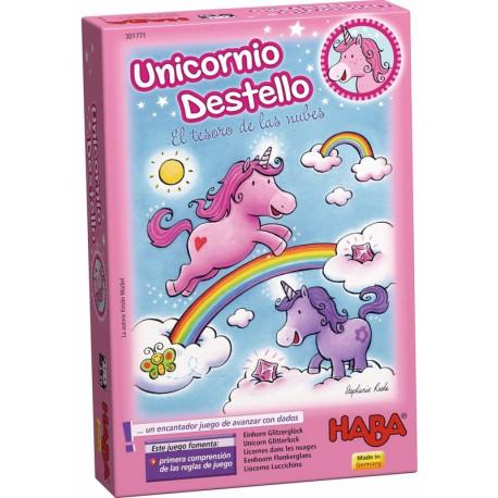 Unicornio Destello El Tesoro de las Nubes