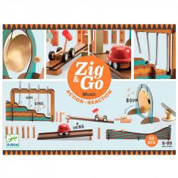 Construcción Zig & Go Music